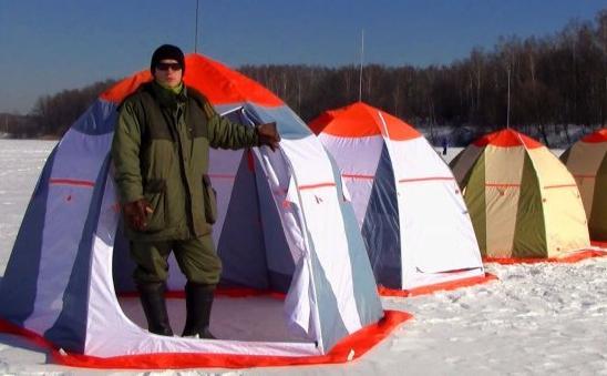 Палатки для зимней рыбалки Митек, Нельма, Омуль