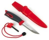 Нож для выживания Swedish FireKnife с огнивом, цвет: красный