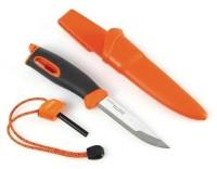 Нож для выживания Swedish FireKnife с огнивом, цвет: оранжевый