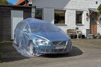 Чехол для автомобиля одноразовый