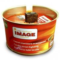 Свеча уличного освещения в банке Image