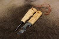 Огниво + открывашка Wood Jewel