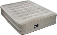 Матрас надувной со встроенным насосом 198x152x38 см