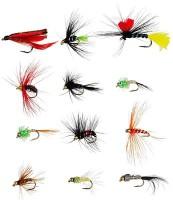 Рыболовные крючки мушки