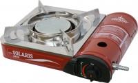 Портативная газовая плита SOLARIS PLUS с переходником для бытового газ баллона