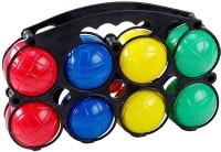 Петанк набор из восьми цветных пластмассовых шаров