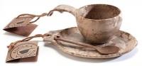 Kupilka gift box маленькая тарелка + классическая чашка с ложкой