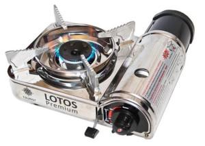 Газовая плита Lotos Premium TR-300 в кейсе