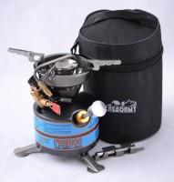 Горелка - примус жидко-топливная портативная Гелиос