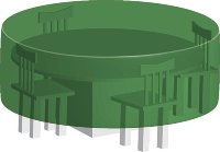 Тент для стола круглый