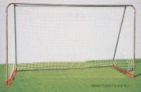 Мини футбольные ворота разборные с сеткой 120*180*50 см