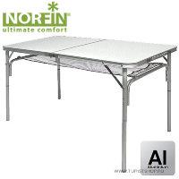Стол складной Norfin GAULA-L алюминиевый 120x60 см