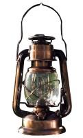 Керосиновая лампа, высота 30 см, диаметр 15 см