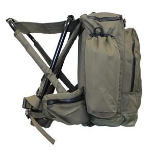 Стульчик без спинки с рюкзаком направляющие для походных рюкзаков