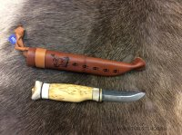 Охотничий нож Wood Jewel Carving knife 77