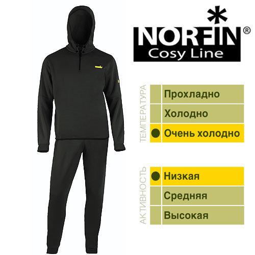 Термобелье Norfin Cosy Line B 04 р.XL Black 3007104-XL