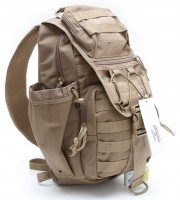 Рюкзак DEFCON 5 Tactical single shoulder bag, coyote tan