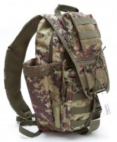 Рюкзак DEFCON 5 Tactical single shoulder bag, vegetato italiano