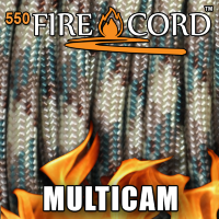 Live Fire Gear 550 FireCord Multicam 7.5/30.5 м