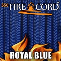 Live Fire Gear 550 FireCord Royal Blue 7.5/30.5 м